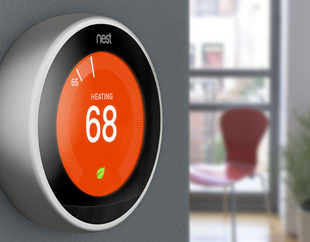PetFriendly Apartments In Fullerton CA Amenities - Nest thermostat apartment